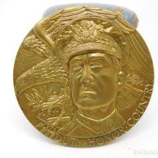 Medallas históricas: MEDALLA DEL GENERAL DOUGLAS MAC ARTHUR 1972 ESTADOS UNIDOS. Lote 89093596