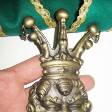 Medallas históricas: DE MUSEO! GRAN BANDA CONSELLER INSIGNIA FALLAS DE FALLA AVENIDA JOSE ANTONIO MAESTRO SERRANO 1976. Lote 89787440
