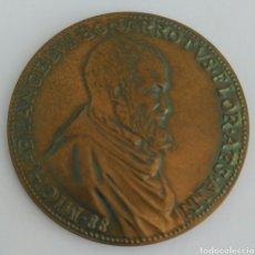 Medallas históricas: MEDALLA DE LA UNESCO DE MIGUEL ANGEL BUONARROTI. 1A EDICIÓN 1974. Lote 89809204