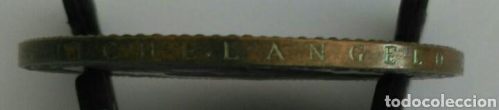 Medallas históricas: MEDALLA DE LA UNESCO DE MIGUEL ANGEL BUONARROTI. 1a EDICIÓN 1974 - Foto 4 - 89809204