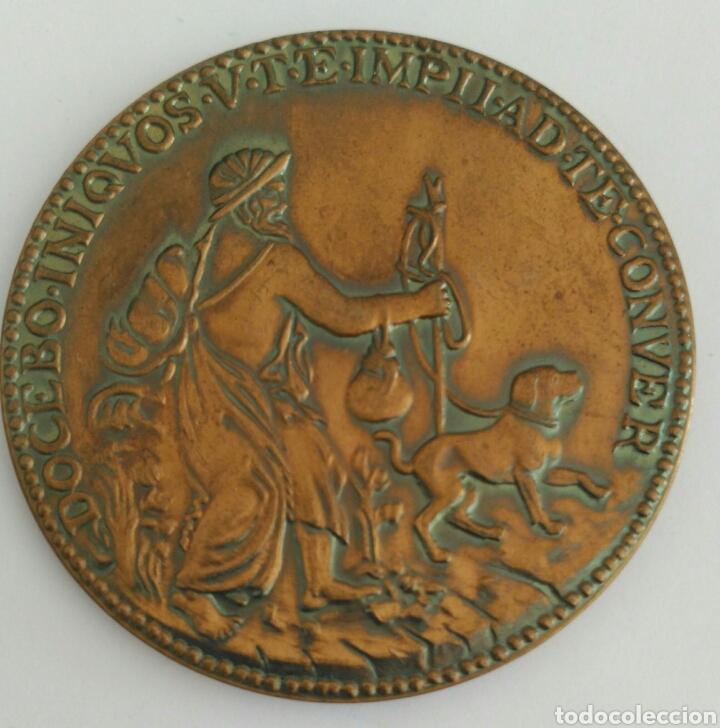 Medallas históricas: MEDALLA DE LA UNESCO DE MIGUEL ANGEL BUONARROTI. 1a EDICIÓN 1974 - Foto 7 - 89809204