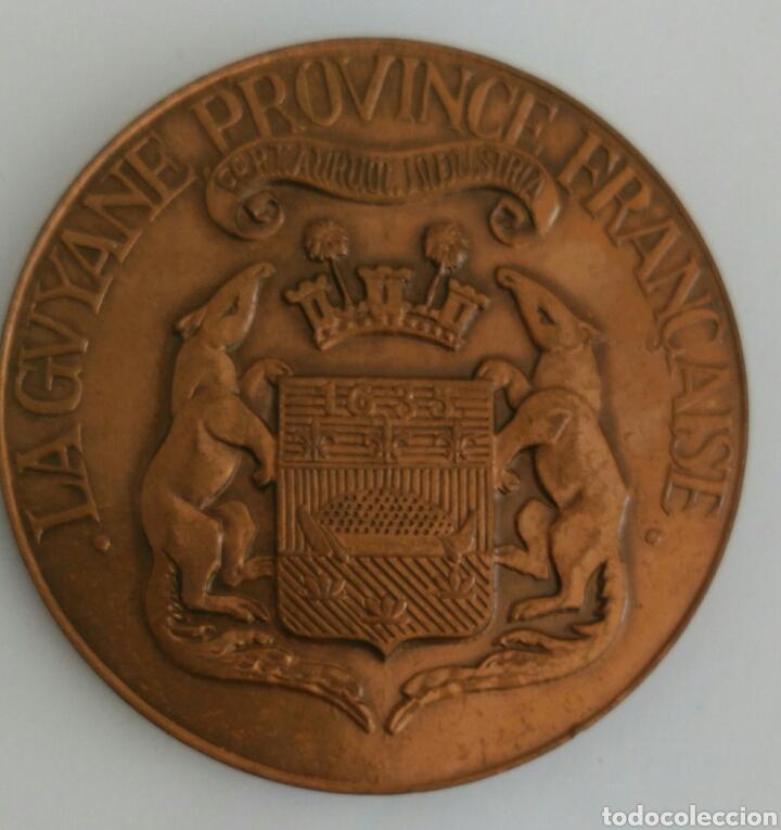 Medallas históricas: MEDALLA FETES DV TRICENTENAIRE LA GUYANE PROVINCE FRANCAISE 1935 TRICENTENARIO GUAYANA PROV. FRANCIA - Foto 5 - 89822555