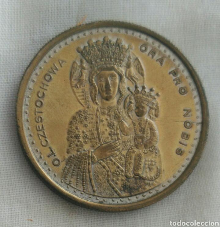 Medallas históricas: MEDALLA JUAN PABLO II. VIRGEN DE CZESTOCHOWA. POLONIA. LA VIRGEN NEGRA - Foto 2 - 90813643