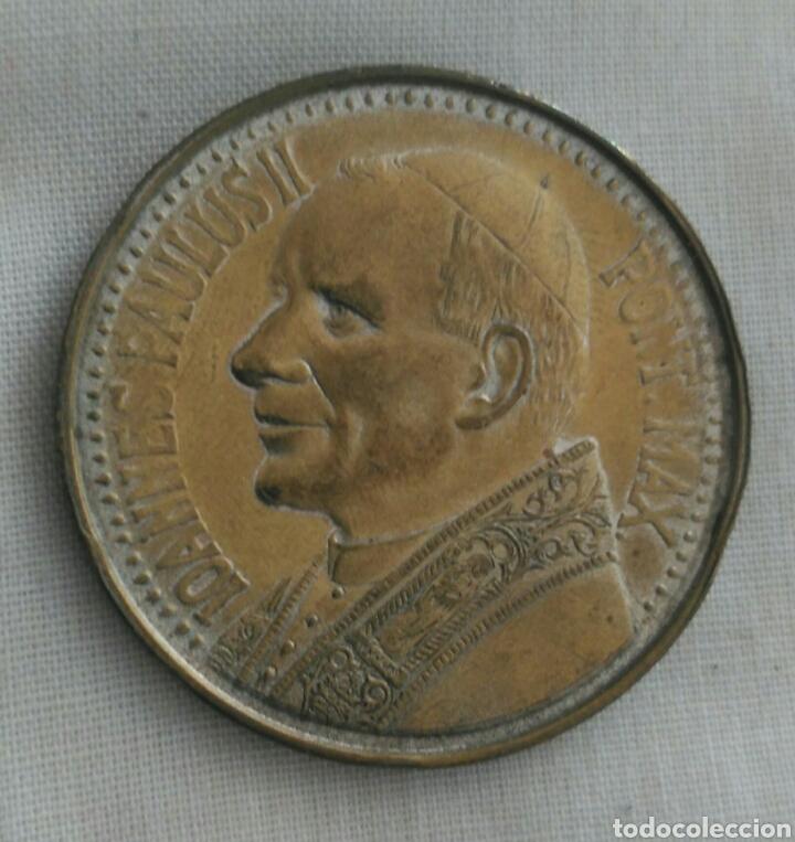 Medallas históricas: MEDALLA JUAN PABLO II. VIRGEN DE CZESTOCHOWA. POLONIA. LA VIRGEN NEGRA - Foto 3 - 90813643