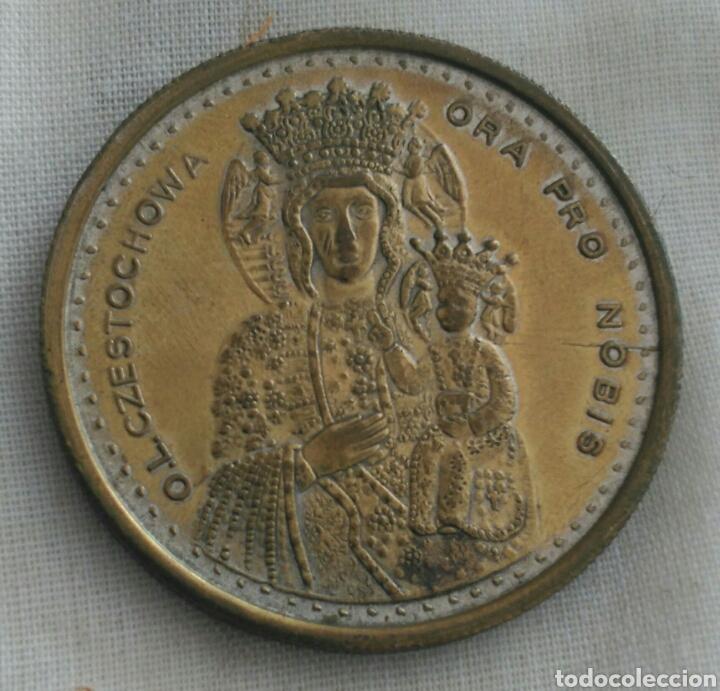 Medallas históricas: MEDALLA JUAN PABLO II. VIRGEN DE CZESTOCHOWA. POLONIA. LA VIRGEN NEGRA - Foto 4 - 90813643