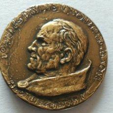 Medallas históricas: MEDALLA OFICIAL JUAN PABLO II PROCLAMACIÓN AÑO SANTO DE MARCELLUS TOMMAS. APERITE PORTAS REDEMPTORI. Lote 90868145