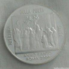 Medallas históricas: MEDALLA APERTURA ESPECIAL DE LA PUERTA SANTA AÑO SANTO 2000. JUBILEO. JUAN PABLO II. Lote 91093677