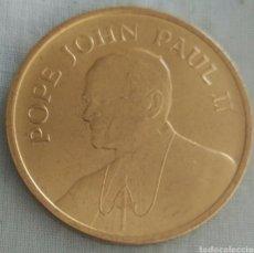 Medallas históricas: MEDALLA PAPA JUAN PABLO II VISITA A USA EN 1987. POPE JOHN PAUL II. PAPAL VISIT. Lote 91430784