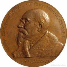 Medallas históricas: ESPAÑA. MEDALLA CONMEMORATIVA DE LA CONCESIÓN DEL PREMIO NOBEL A JOSÉ ECHEGARAY. 1.916. Lote 91444585