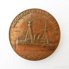 Medallas históricas: MEDALLA DEL XXIII SALÓN NÁUTICO DE BARCELONA 1985. Lote 92287920