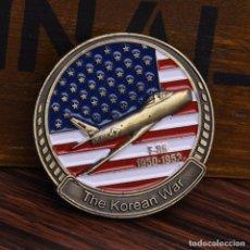 Medallas históricas: MONEDA - MEDALLA CONMEMORATIVA - THE COREAN WAR - GUERRA DE COREA - F 86 - 1950 /1953. Lote 92802365
