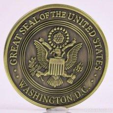 Medallas históricas: MONEDA - MEDALLA CONMEMORATIVA - GREAT SEAL OF THE UNITED STATES - SAINT MICHAEL. Lote 92804460