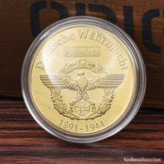 Medallas históricas: MONEDA - MEDALLA CONMEMORATIVA - ERWIN ROMMEL - ZORRO DEL DESIERTO - DEUTSHE WEHRMACHT - 1892 / 1944. Lote 92804950