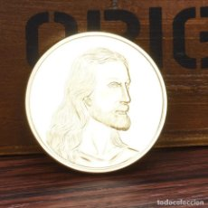 Medallas históricas: MONEDA - MEDALLA CONMEMORATIVA - CRISTO JESUS - LA ULTIMA CENA - IMAGENES HISTORICAS. Lote 92805340