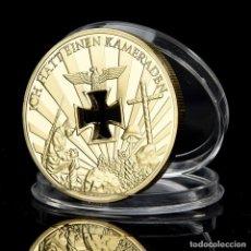 Medallas históricas: MONEDA - MEDALLA CONMEMORATIVA - ALEMANIA NAZI - 1914 / 1945 ICH HATT EINEN KAMERADEN - NIEMALS VERG. Lote 92917165