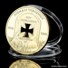 Medallas históricas: MONEDA - MEDALLA CONMEMORATIVA - ALEMANIA NAZI - 1914 / 1945 ICH HATT EINEN KAMERADEN - NIEMALS VERG. Lote 92917310