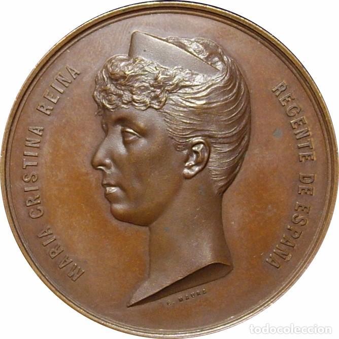 Medallas históricas: ESPAÑA. MARÍA CRISTINA REINA REGENTE. MEDALLA EXPOSICIÓN GENERAL DE BELLAS ARTES. MADRID 1.887 - Foto 1 - 94746927