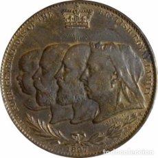 Medallas históricas: INGLATERRA. REINA VICTORIA. MEDALLA DEL JUBILEO 60 ANIVERSARIO. 1.897. Lote 94906247