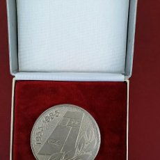 Medallas históricas: MEDALLA CONMEMORATIVA DE LOS 30 AÑOS DE LA INTERFLUG. LÍNEAS AÉREAS DE LA ALEMANIA ORIENTAL.. Lote 95995443