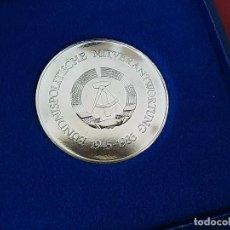 Medallas históricas: MEDALLA CONMEMORATIVA DEL PARTIDO LIBERAL DEMOCRÁTICO DE ALEMANIA ORIENTAL. LDPD. 1945-1985. Lote 96009227