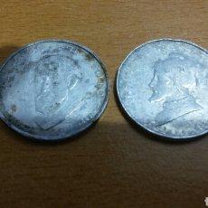 Medallas históricas: 2 MEDALLAS COLECCIÓN CONQUISTADORES ESPAÑOLES. Lote 96141567