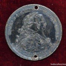 Medallas históricas: MEDALLA EN PLATA AL MONUMENTO ECUESTRE DE CARLOS IV (EL CABALLITO) AÑO 1796. Lote 96151635