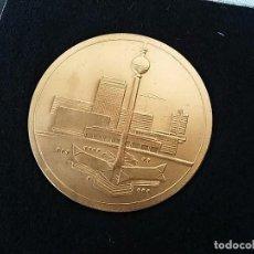 Medallas históricas: MEDALLA 20 AÑOS CONSTRUCCIÓN TORRE COMUNICACIONES DE BERLIN. ALEMANIA ORIENTAL 1969.. Lote 96159395