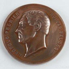 Medallas históricas: MEDALLA DE LEOPOLD PREMIER, ROI DES BELGES, L´ESCAUT EST LIBRE, BAITES DES 12 MAI ET 16 JUILLET, GRA. Lote 96480511