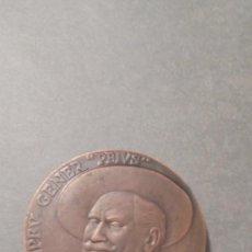 Medallas históricas: MEDALLA - DE BRONCE - POMPEU GENER '' PEIUS ''1920 MORT DE L'HUMORISTA I SOMIADOR BARCELONA 1970 - . Lote 97138311