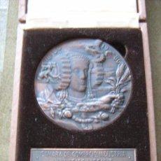 Medallas históricas: MEDALLA CONMEMORATIVA DE 100 AÑOS CAMARAS DE COMERCIO INDUSTRIA Y NAVEGACION - CADIZ - VER FOTOS. Lote 97147003