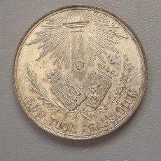 Medallas históricas: MEDALLA 2º CONGRESO CATÓLICO NACIONAL. ZARAGOZA 1890. Lote 97611967