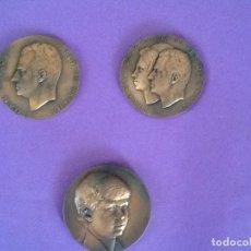 Medallas históricas: MEDALLAS REY DE ESPAÑA! REYES DE ESPAÑA Y PRÍNCIPE DE ASTURIAS 1.975-1.977.. Lote 98058499