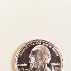 Medallas históricas: MONEDA MEDALLA DON JUAN DE BORBÓN. PLATA 999. TAMAÑO 4 CM. Lote 98849735