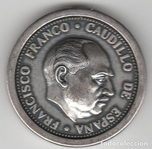ANTIGUA DEMALLA DE FRANCISCO FRANCO-CAUDILLO DE ESPAÑA (Numismática - Medallería - Histórica)