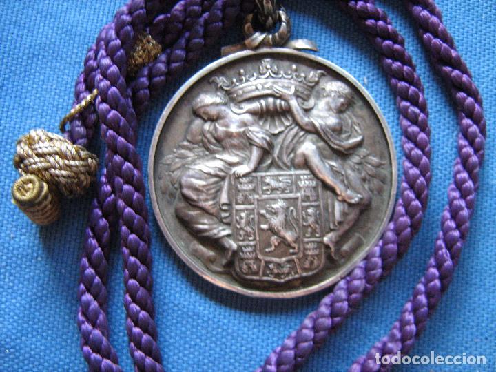 MEDALLA DE PLATA DE LEY CON CONTRASTE DE LA DIPUTACION PROVINCIAL DE CORDOBA - PESO 120 GR (Numismática - Medallería - Histórica)