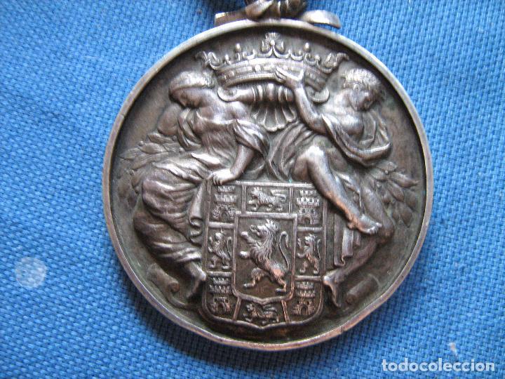 Medallas históricas: MEDALLA DE PLATA DE LEY CON CONTRASTE DE LA DIPUTACION PROVINCIAL DE CORDOBA - PESO 120 GR - Foto 3 - 99455411