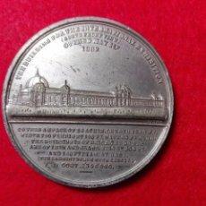 Medallas históricas: MEDALLA CINC 1862 INGLATERRA, EXPOSICIÓN UNIVERSAL DE LONDRES 1862. Lote 101018019