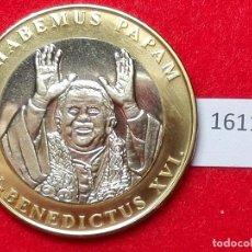 Medallas históricas: MEDALLA VATICANO PAPA BENEDICTO XVI, BIMETALICA. Lote 101106155