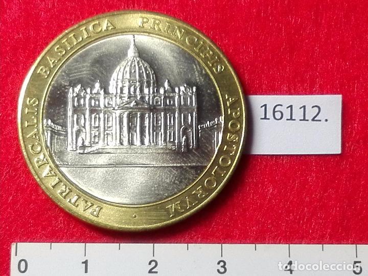 Medallas históricas: medalla Vaticano Papa Juan Pablo II, bimetalica - Foto 2 - 101106287