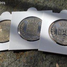 Medallas históricas: LOTE 3 MONEDAS ORIGENES IBEROS Y ROMANOS PERIODICO LAS PROVINCIAS.. Lote 101301723