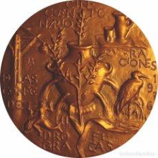 Medallas históricas: ESPAÑA. MEDALLA 50 ANIVERSARIO CONFEDERACIONES HIDROGRÁFICAS. 1.976. CON ESTUCHE. Lote 102110995