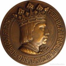 Medallas históricas: ESPAÑA. GRAN MEDALLA FERNANDO EL CATÓLICO. 1.952. Lote 103758739