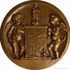 Medallas históricas: ESPAÑA. MEDALLA F.N.M.T. ESCULTOR JUAN MARTÍNEZ MONTAÑÉS. 1.949. Lote 103781771