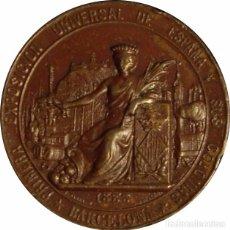 Medallas históricas: ESPAÑA. MEDALLA EXPOSICIÓN UNIVERSAL DE ESPAÑA Y SUS COLONIAS. BARCELONA 1.888. Lote 103822787