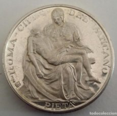 Medallas históricas: MEDALLA DE PLATA PAPA JUAN PABLO II. LA PIEDAD. ROMA CITTA DEL VATICANO JOANNES PAVLVS II PONT MAX. Lote 104043523