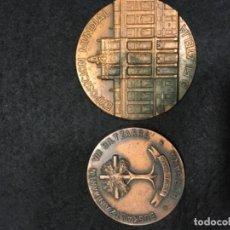 Medallas históricas: DOS MEDALLAS. Lote 104481871