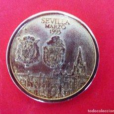 Medalhas históricas: MEDALLA BODA JAIME Y ELENA (PRINCESA) EN SEVILLA *MARZO 1995. Lote 189485417