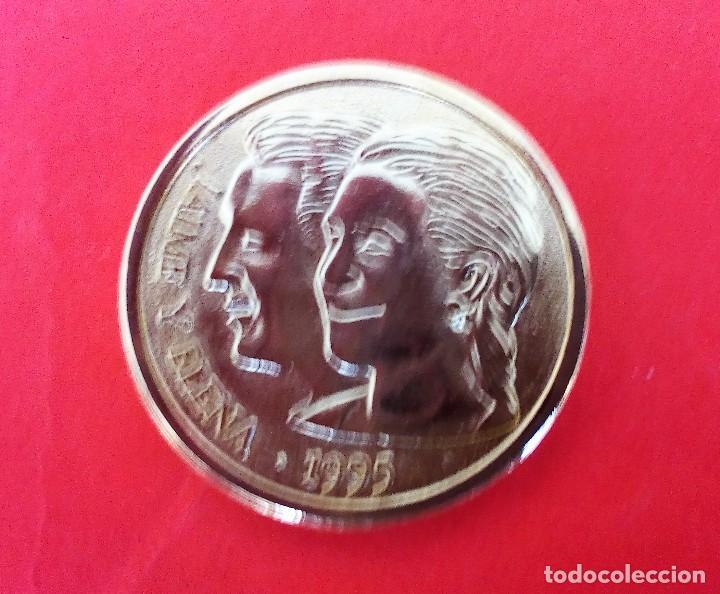 Medallas históricas: MEDALLA BODA JAIME Y ELENA (PRINCESA) EN SEVILLA *MARZO 1995 - Foto 2 - 189485417