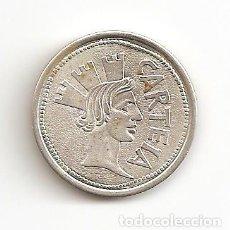Medallas históricas: LOS DUROS ANTIGUOS LAS ARRAS DE LOS GADITANOS ACUÑADAS EN PLATA 3,80GR-22MM. EBC++. Lote 109491579