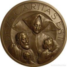 Medallas históricas: ESPAÑA. MEDALLA 150 ANIVERSARIO FUNDACIÓN CASA PROVINCIAL DE CARIDAD. 1.952. Lote 110090199